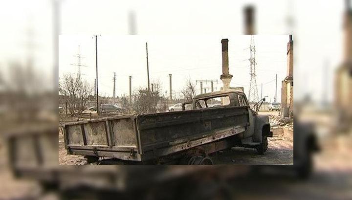 Пожары вновь угрожают нескольким поселкам в Забайкалье