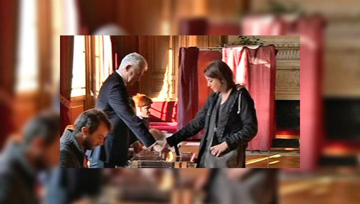 Во Франции начались выборы президента