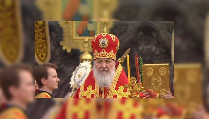 Патриарх Кирилл призвал молиться за Россию