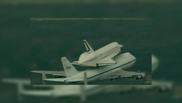 Шаттл Enterprise готовится к финальному вылету
