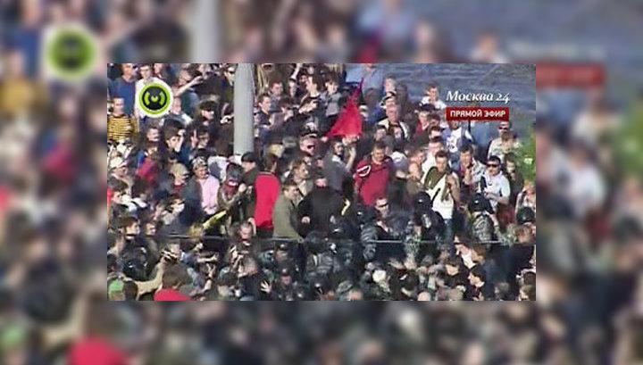 Правозащитники: организаторы спровоцировали срыв митинга на Болотной