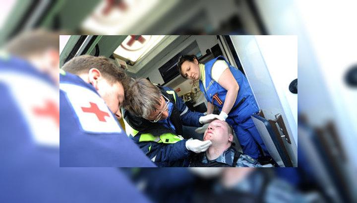 На Болотной площади пострадали около 30 силовиков