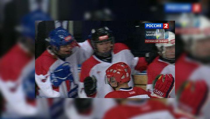 Команда Путина выиграла у легенд российского хоккея