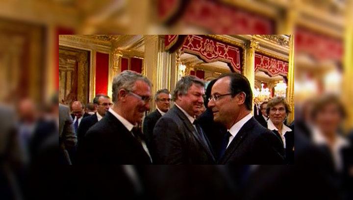Франсуа Олланд вступил в должность президента Франции