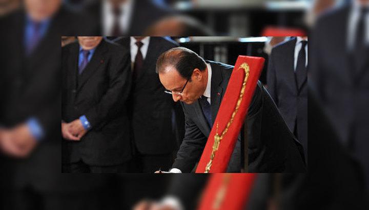 """Президент-социалист обещает Франции """"непростые времена"""""""