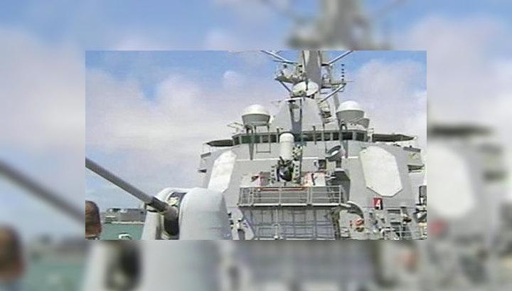 США направили к Корейскому полуострову два ракетных эсминца