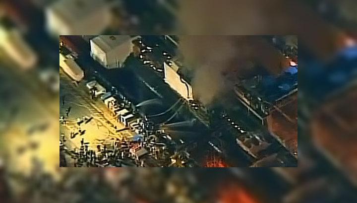 Пожар на атомной подлодке в США: пострадали четверо пожарных