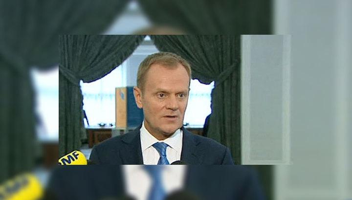 Новый глава Евросовета выступает за мирное решение конфликта на Украине