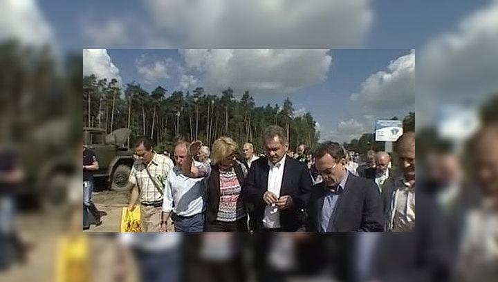 Шойгу раскритиковал власти Жуковского за вырубку Цаговского леса