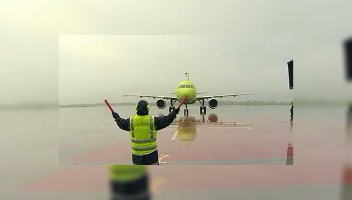 Пассажиры опробовали новый терминал в аэропорту Владивостока