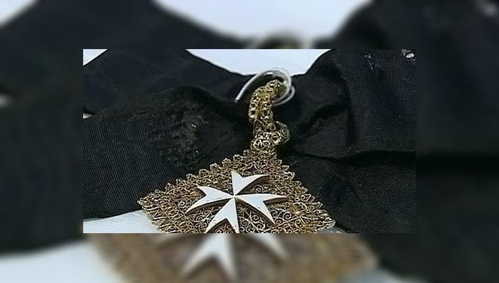 На выставке в Москве представлены сокровища Мальтийского ордена