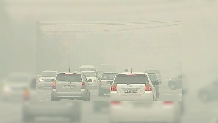 Ветер и дождь избавили Якутск от смога