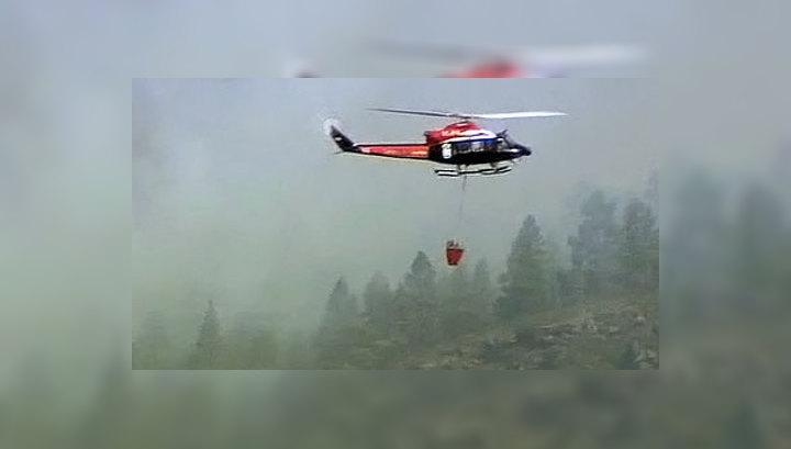 Авиация МЧС вылила на Томскую область 1110 тонн воды