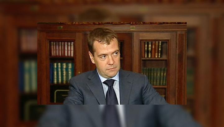 Спецпоезд Медведева прибыл в Новосибирск