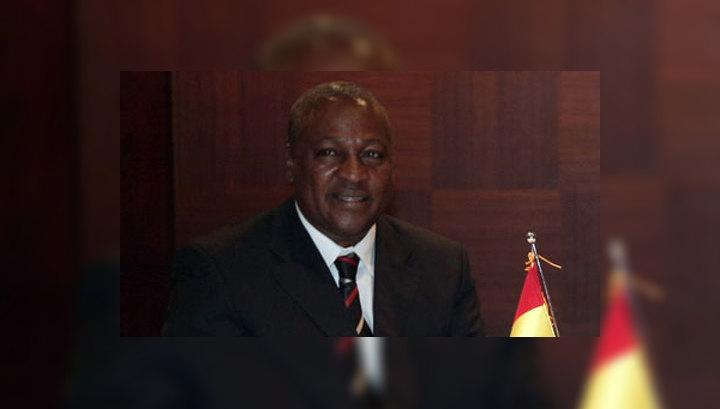 Джон Драмани Махама стал президентом Ганы