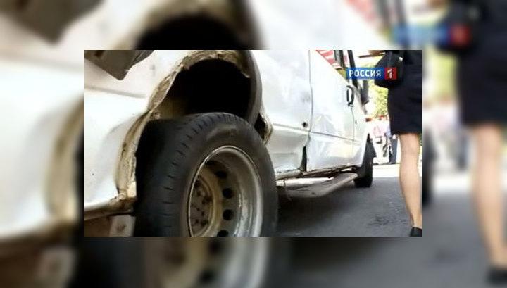 В Москве в ДТП с маршруткой пострадали 11 человек