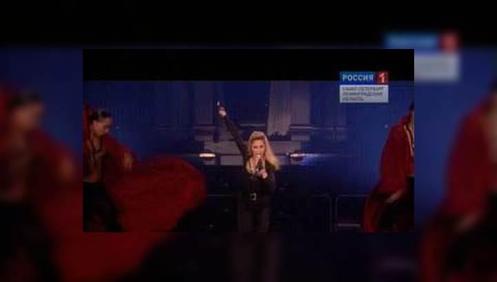 Петербуржцы простили Мадонну за трехчасовое опоздание