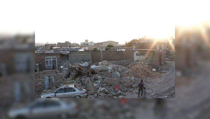 Россия готова помочь Ирану оправиться от землетрясения