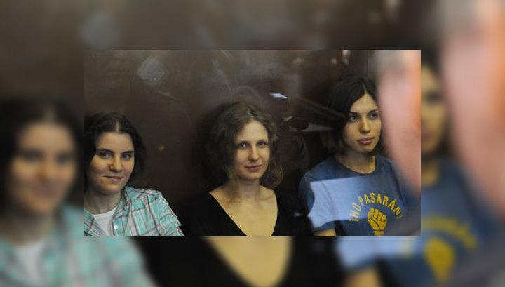 Pussy Riot вошли в шорт-лист премии Сахарова