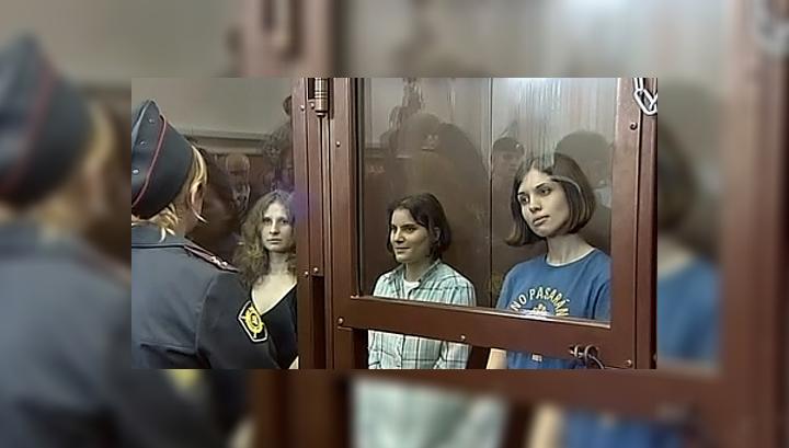 Дело Pussy Riot: у Мосгорсуда задержаны пять человек