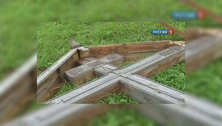 РПЦ приравняла осквернителей крестов к Андерсу Брейвику