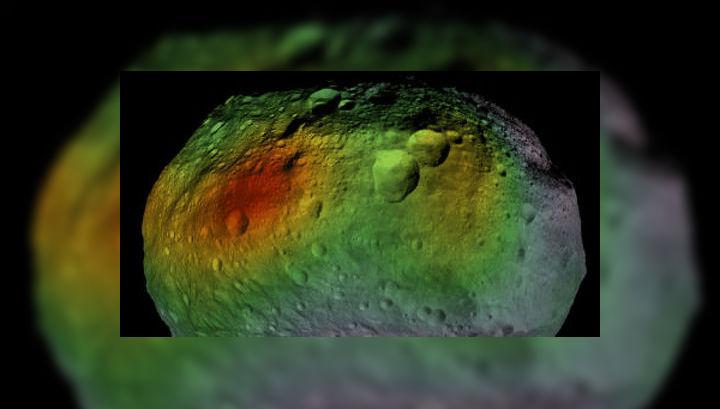 В широком поясе вдоль экватора астероида Веста обнаружена высокая концентрация гидратированных минералов