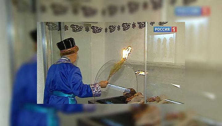 Новый российский мавзолей