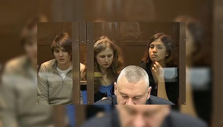 Толоконниковой и Алехиной отказали в просьбе остаться в СИЗО