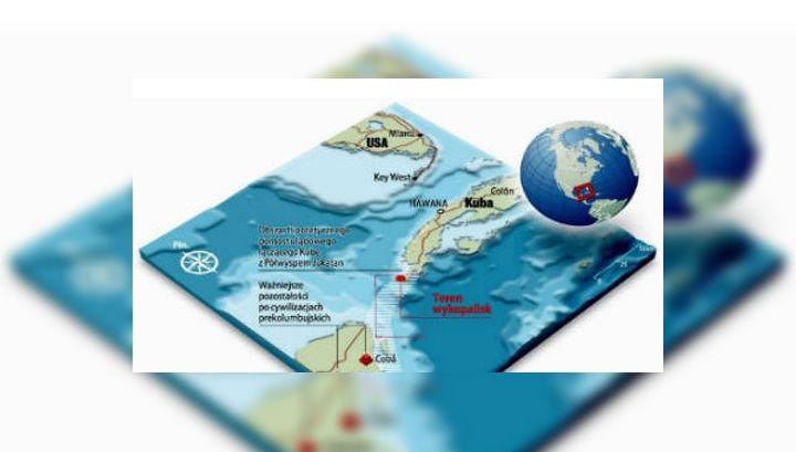 Учёные нашли затонувший город рядом с Бермудским треугольником