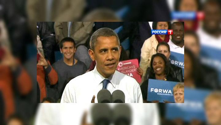 """Ураган """"Сэнди"""" может снизить шансы Обамы на победу в президентских выборах"""