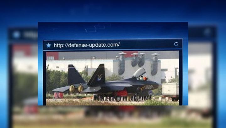 Китай провел испытания истребителя пятого поколения