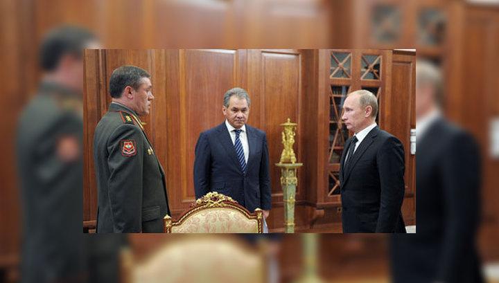 Шойгу попросил Путина утвердить новый план обороны страны