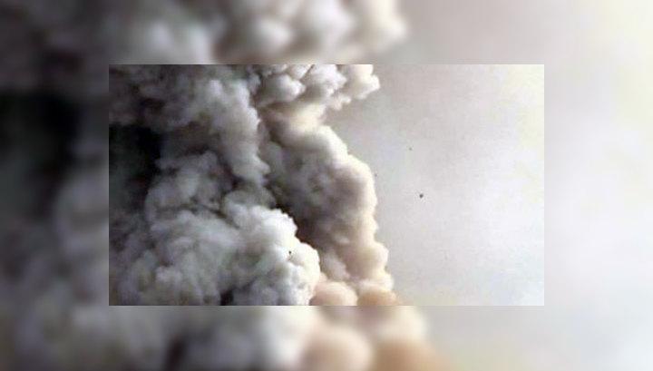 Ключевской бушует: шлейф пепла от вулкана тянется на 250 километров
