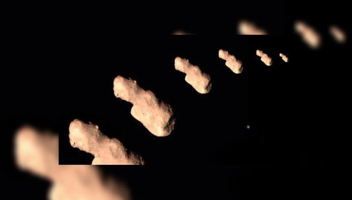"""Снимки астероида Таутатис, полученные зондом """"Чанъэ-2"""""""