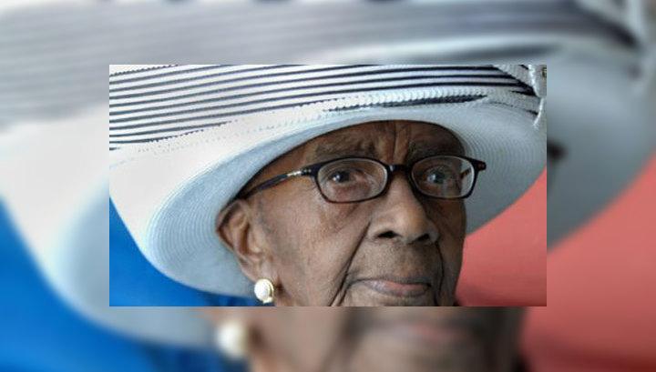 Умерла самая старая жительница Америки