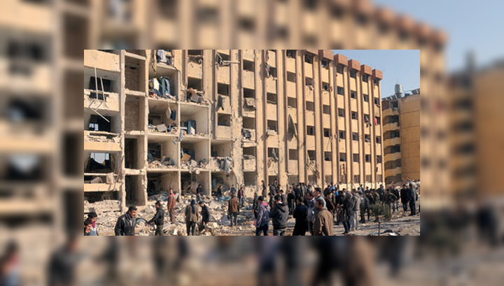 Взрыв в Алеппо: в первый день сессии в университете погибло 80 человек