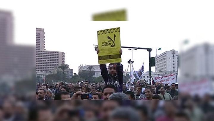 Годовщина египетской революции: обстановка в Каире накаляется