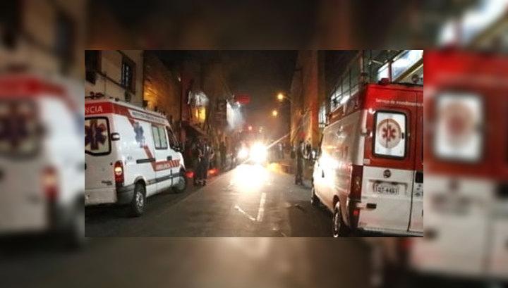 В Бразилии арестовали директора сгоревшего клуба и двоих музыкантов