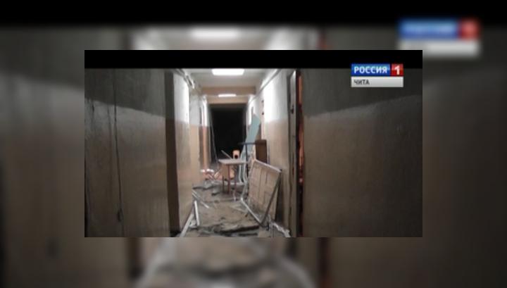 Ущерб от беспорядков в общежитии профучилища в Чите - более 1 млн. рублей