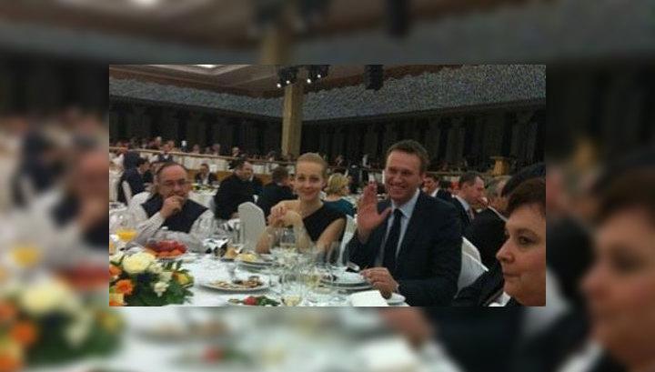 """Алексей Навальный в """"Твиттере"""" объяснил, что он делал в Кремле"""