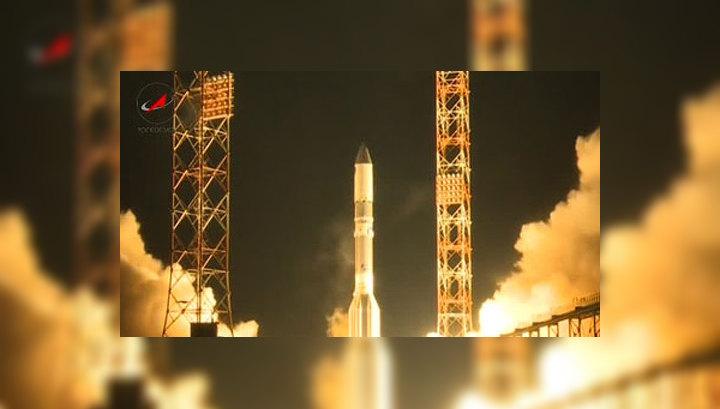 """Роскосмос: """"Протон-М"""" со спутником сгорели в верхних слоях атмосферы"""