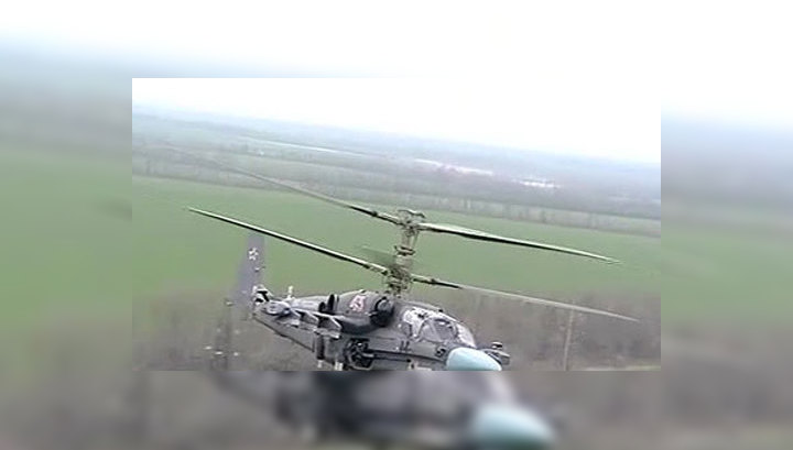 Вертолет Ка-52 способен противостоять наступлению целой армии