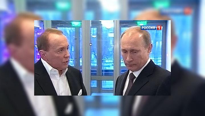 """Путин приехал на открытие """"Планеты КВН"""""""