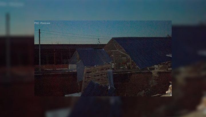 Провал в Бутурлине: дома стояли над подземным озером