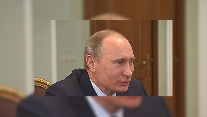 Путин желает здоровья новорожденному принцу