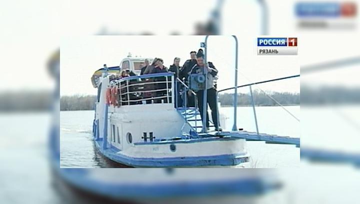 В Рязанском регионе открылась навигация