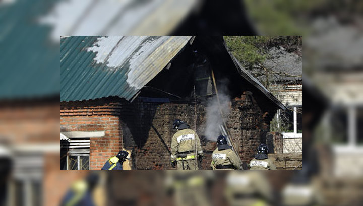 МЧС: люди сгорели в больнице Раменского по вине персонала