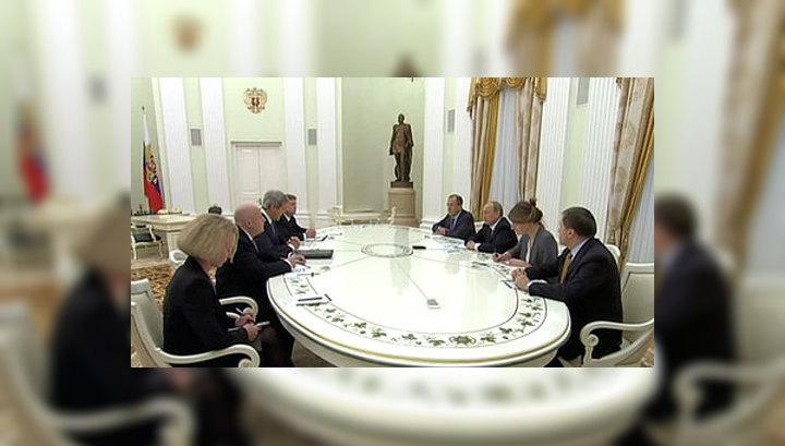 Россия и США договорились усадить оппозицию и правительство Сирии за стол переговоров