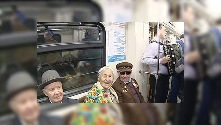 Первыми новые станции казанского метро посетили ветераны