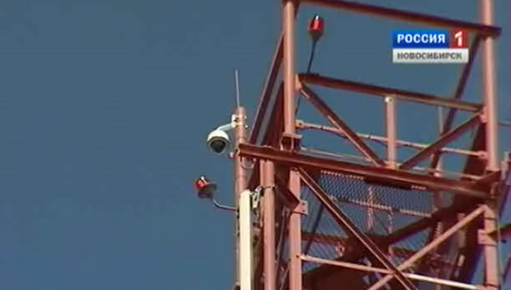 В новосибирских лесах устанавливают новые системы видеонаблюдения